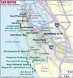 San Mateo County Map, Map of San Mateo County, California