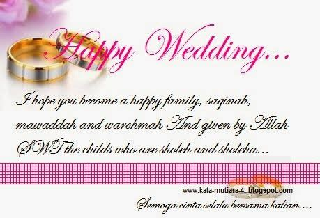 ucapan selamat pernikahan  bahasa inggris