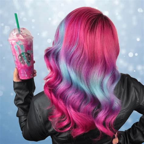Hair Color   Unicorn Frappuccino inspired   Style & Designs