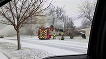 House Fire in Ada, Ohio - YouTube