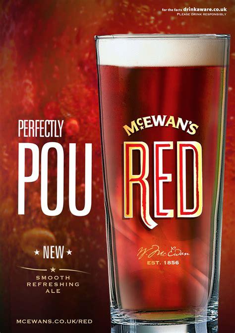 McEwan's Red brand design, launch & marketing | THE UNION