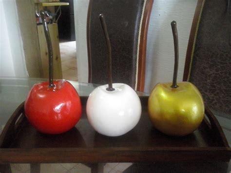 cerezas frutas decorativas  centros de mesa bs