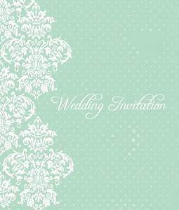 Wedding invitation Vector Graphic — beautiful, pattern