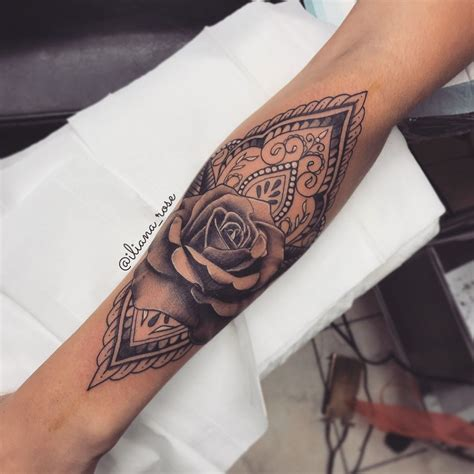 pin  justine dc  instagram tattoos mandala tattoo