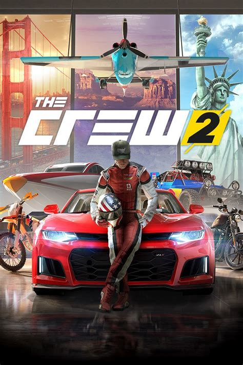 the crew 1 the crew 2 2018 playstation 4 box cover mobygames