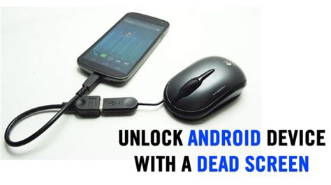 how to unlock android how to unlock android device with cracked or broken screen