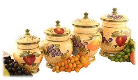 tuscan kitchen canisters sets tuscan collection deluxe 4 canister set home is