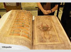 Codex Gigas the Devil's Bible the largest manuscript