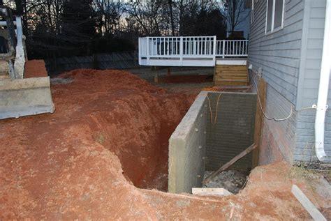 basement walkout walkout basement before after 3 jpg