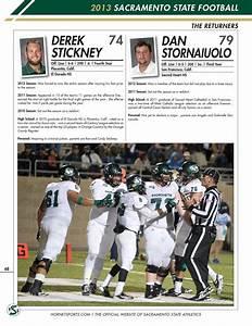 2013 Sacramento State Football Media Guide By Hornet