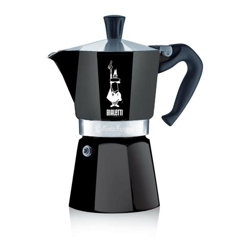 These are available in different if the coffee tastes burnt or too bitter, i recommend taking the pot off the stove sooner and grinding the. Bialetti 6 Cup Moka Express Black Aluminium Stovetop Espresso Maker - ESPRESSO MACHINE COMPANY