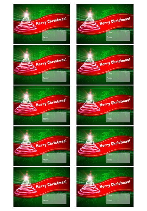 weihnachtsetiketten vorlage erstellen sie individuelle