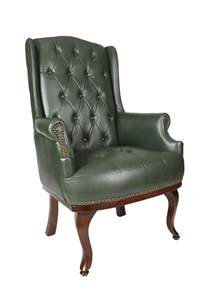 back chair uk high back fireside green leather chair fc hbl gr 163 225