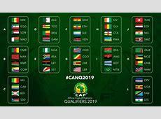 CAN 2019 les groupes des éliminatoires complets