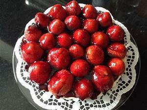 Torte Mit Erdbeeren : schokokeks torte mit erdbeeren rezept mit bild von ~ Lizthompson.info Haus und Dekorationen