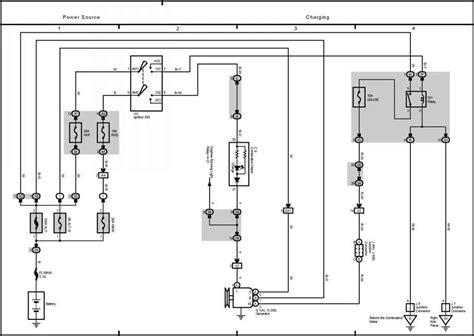 system toyota corolla 2004 wiring toyota service