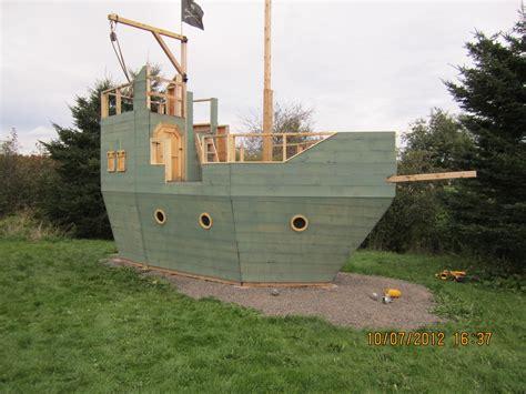 backyard pirate ship plans backyard kidz backyard pirate ship playhouse the paint