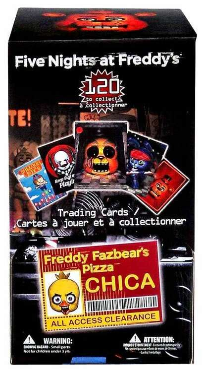 Give them the gift of choice with a freddy gift voucher card. Five Nights at Freddys Five Nights at Freddys Trading Card Gravity Feed Box 36 Packs Just Toys ...