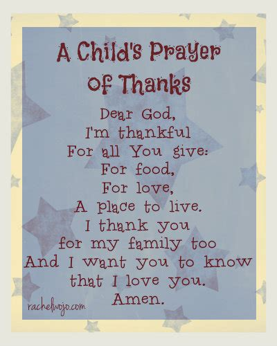a child s prayer of thanks amp 12 blessings book 393 | childs prayer of thanks