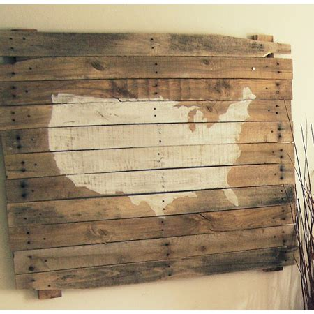 pallet wall art diy projects  cottage market