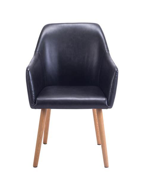 chaise visiteur avec accoudoirs chaise de visiteur avec accoudoirs style scandinave dot