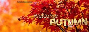 welcome autumn leaves Facebook Cover, welcome autumn ...