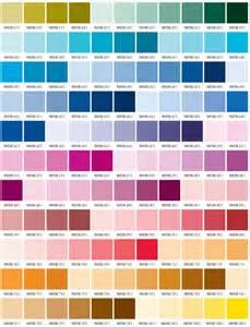 Pantone Color Reference Chart