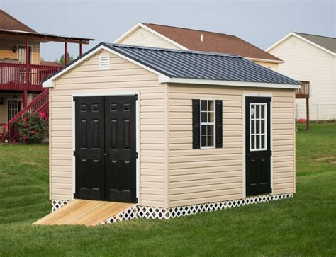 Delaware Sheds And Barns by 10x12 Storage Shed Portable Storage Building Byler Barns