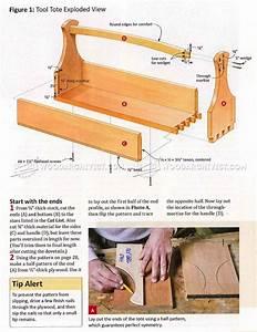 Tool Tote Plans  U2022 Woodarchivist
