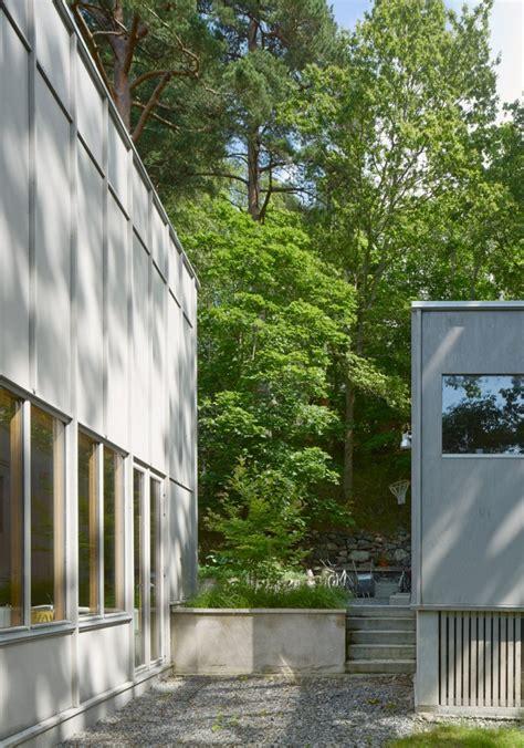 wooden extension  built    century swedish villa