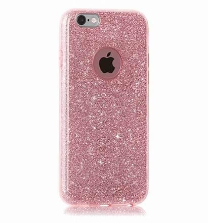 Hoesje Roze Glitter Iphone 5s 6s Hoesjes