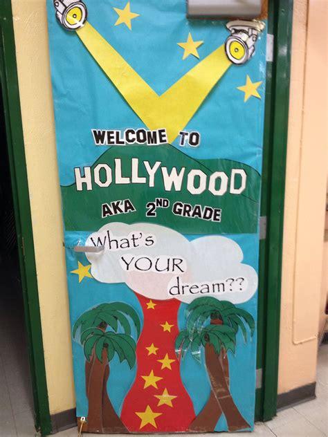 hollywood themed classroom door door decor hollywood