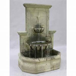 Al39s garden art augustine wall fountain lg124 fw for Als garden art