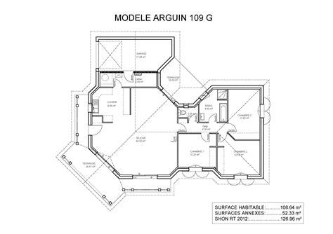 maison plein pied 4 chambres cheap excellente plan de maison plain pied modles et plans