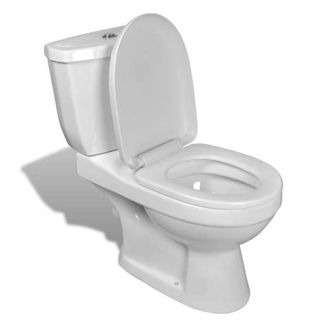 si鑒e toilette bagno bidet toilet wc vaso water copri sanitari con cisterna in ceramica bianco