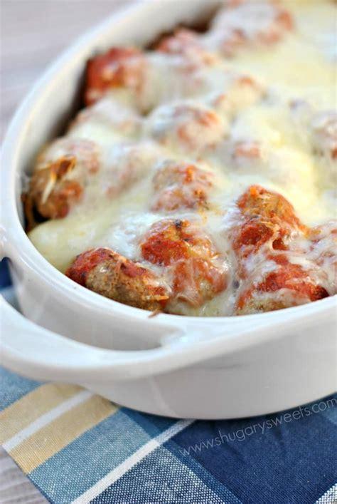 meatball casserole meatball parmesan casserole shugary sweets