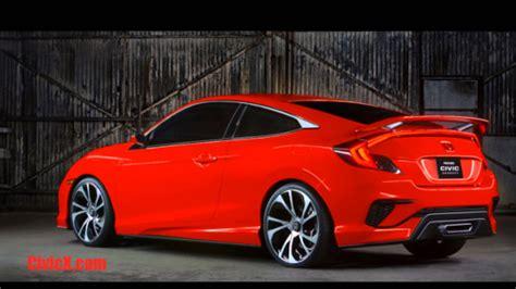 2016 Honda Civic (colors) & Civic Type R (3d Model