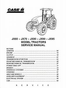 Case Ih Jx60 Jx70 Jx80 Jx90 Jx95 Service Manual  U2013 Case Service Manual Pdf