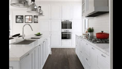 White Kitchen Countertop - white kitchen cabinets and countertops
