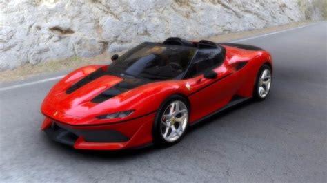 ferrari j50 rear ferrari j50 1 18 looksmart models