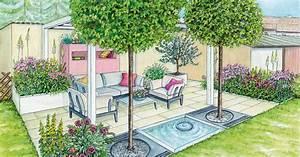 Gemütliche Sitzecke Im Garten : gesch tzte sitzecke vor einer mauer mein sch ner garten ~ A.2002-acura-tl-radio.info Haus und Dekorationen