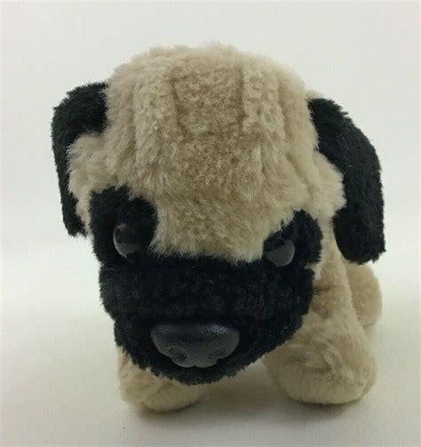 build  bear workshop pug dog  mini plush stuffed animal  red bandana build  bear