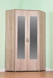 Bedroom Wardrobes For Sale chester standard corner wardrobe with sonoma light oak