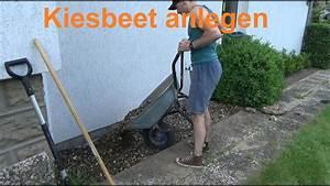 Kiesbeet Anlegen Bilder : kiesgarten anlegen kiesbeet selber machen anlegen steingarten gestalten youtube ~ Markanthonyermac.com Haus und Dekorationen