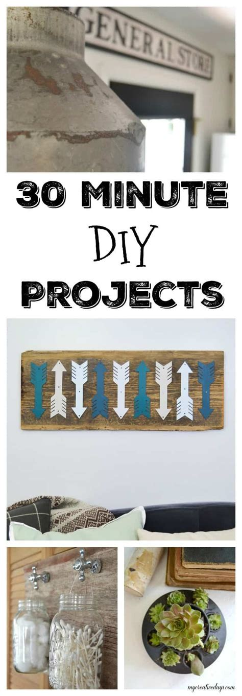 minute diy projects diy wood projects diy projects