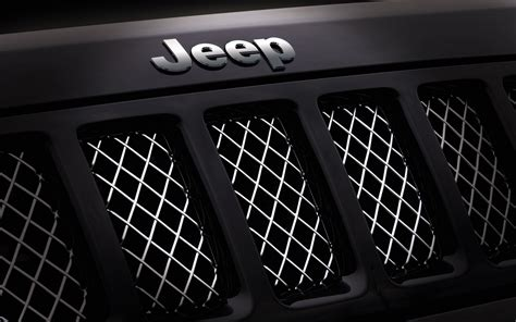 Jeep Grill Wallpaper by Jeep Front Grill Logo Wallpaper 66855 1920x1200px