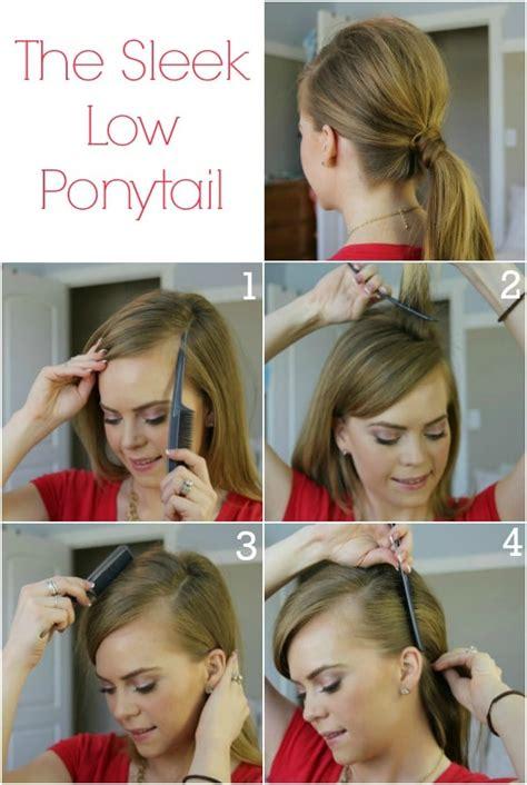 super easy  amazing ponytail hairstyles