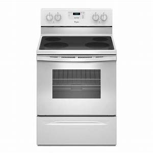 Shop Whirlpool Smooth Surface Freestanding 4 8