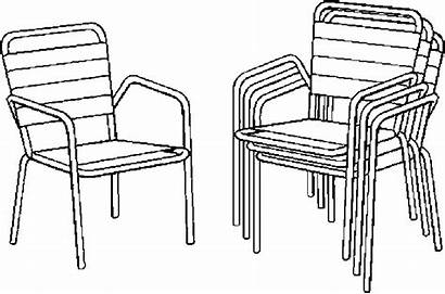 Chairs Lawn Furniture Coloring