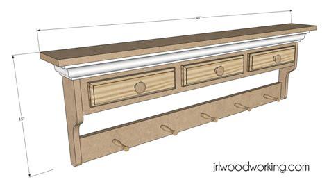 bench wood  woodworking plans wall shelf